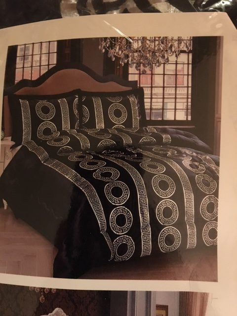 Luxe bedsprei Versace in diverse kleuren € 59,00