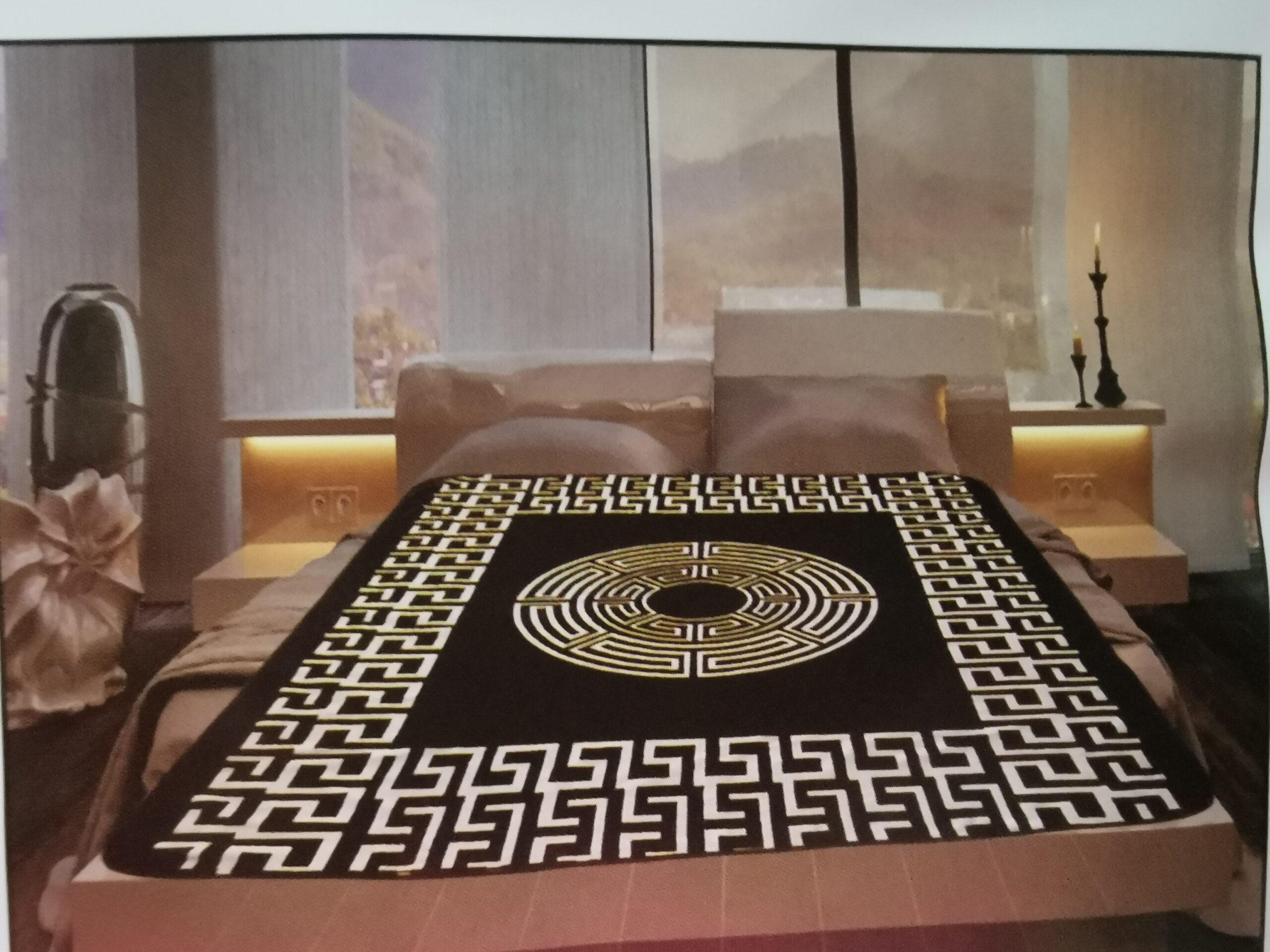 Nieuw luxe Versace fleece dekens